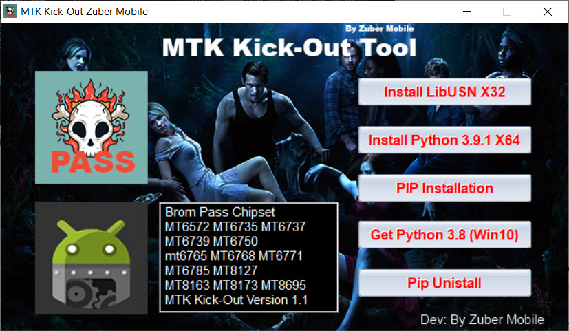 MTK Kick Out Tool